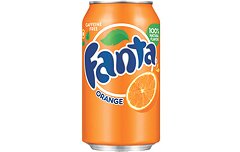 Foto Fanta Orange Blikje